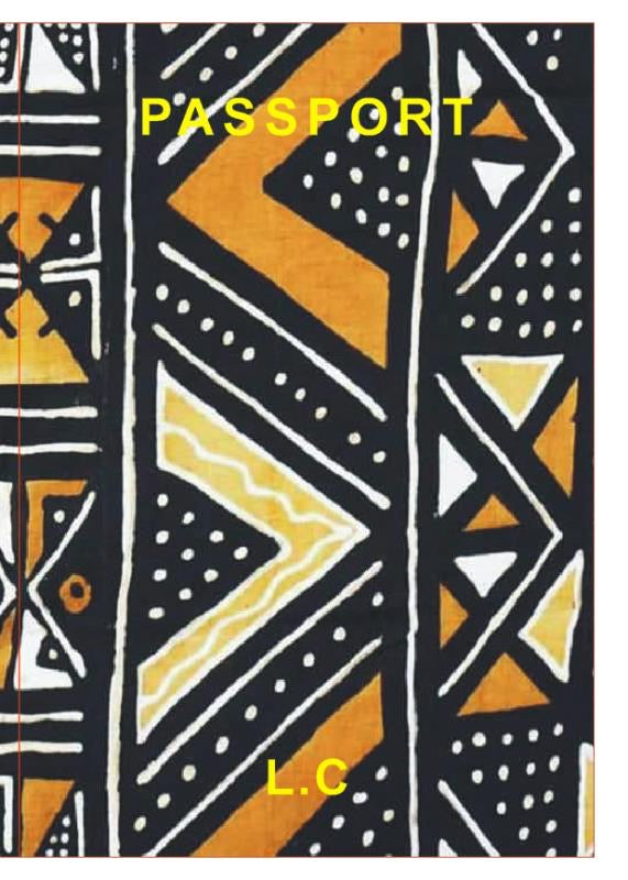 Ankara Passport  Cover by lilicreation