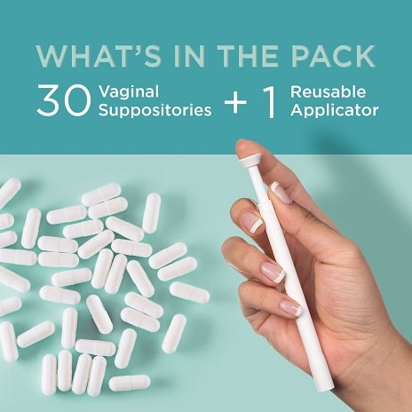 VeeCleanse Suppositories for Vaginal Odor and pH Balance