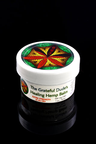 1 oz Grateful Dude's Healing Hemp Balm - CBD137