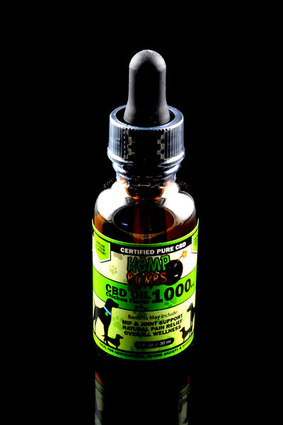 Pet CBD Oil 1000mg - CBD144