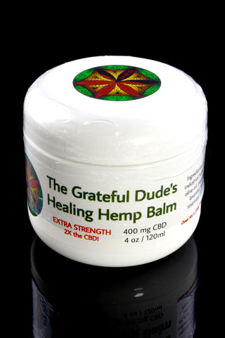 4 oz Grateful Dude's Healing Hemp Balm - CBD147