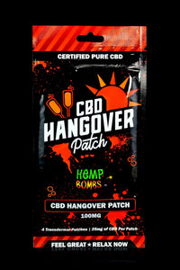 CBD Hangover Patches - CBD222