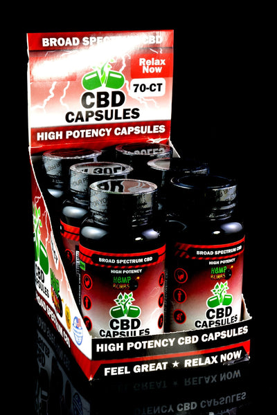 70 Count High Potency CBD Capsules - CBD227