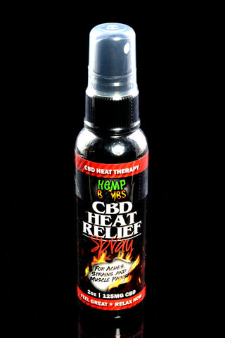 2oz CBD Heat Relief Spray - CBD233