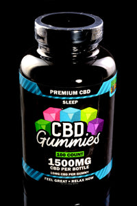 100 Count CBD Sleep Gummies - CBD244