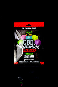 8 Count High Potency CBD Gummies - CBD245