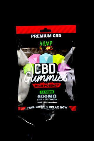 20 Count High Potency CBD Gummies - CBD246
