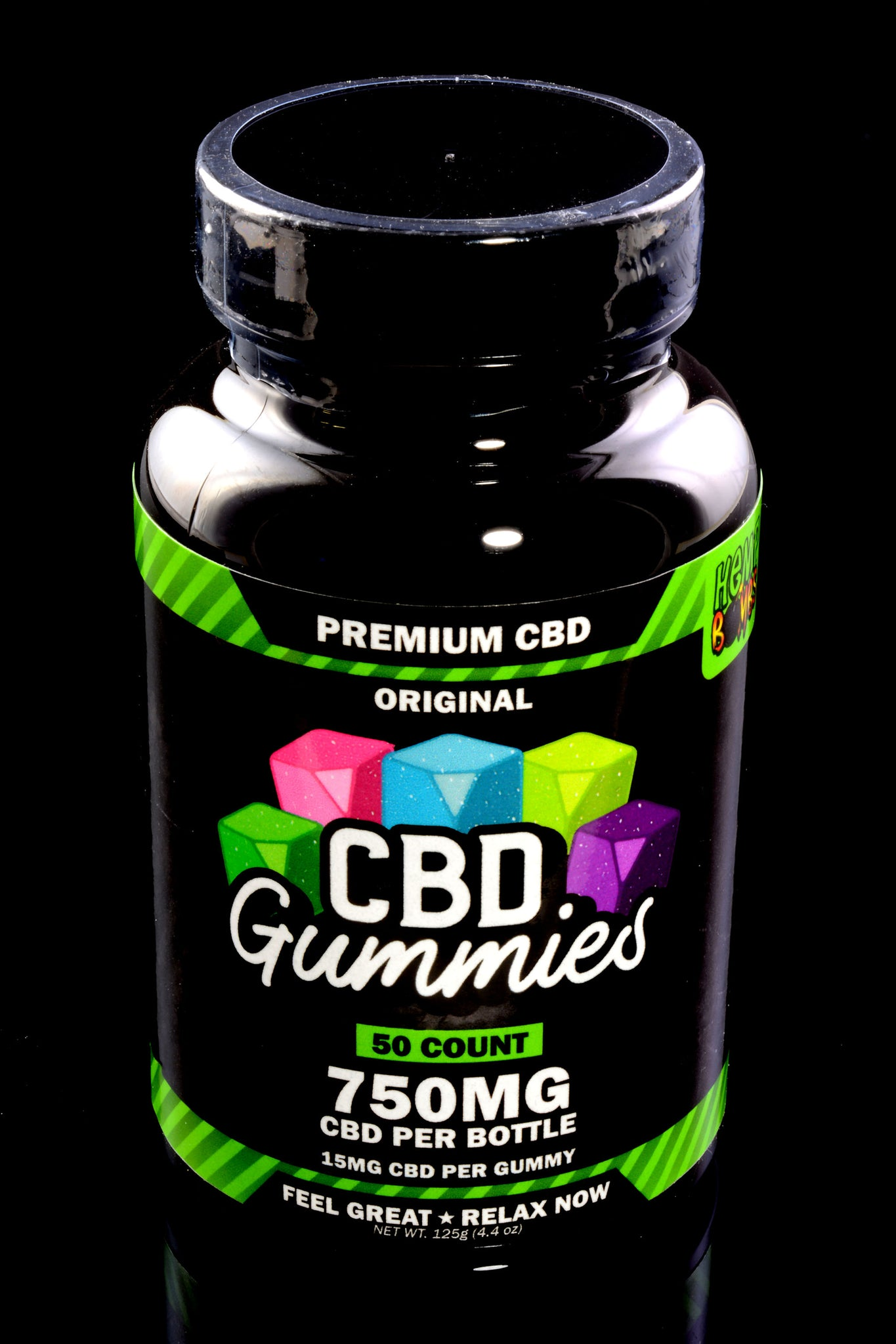 50 Count CBD Gummies - CBD252