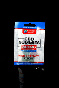 8 Count High Potency CBD Gummies - CBD253