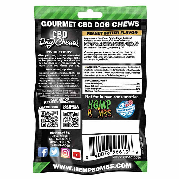 8 Count CBD Dog Chews - CBD264