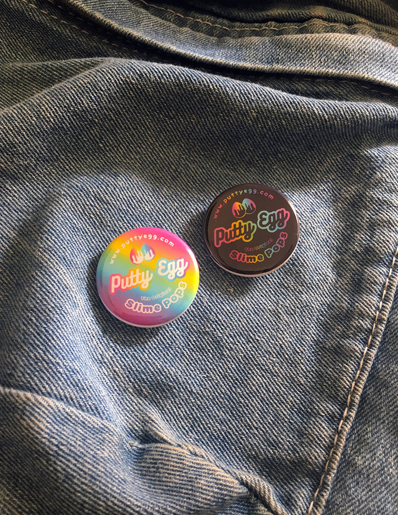 Rainbow Putty Egg Pins