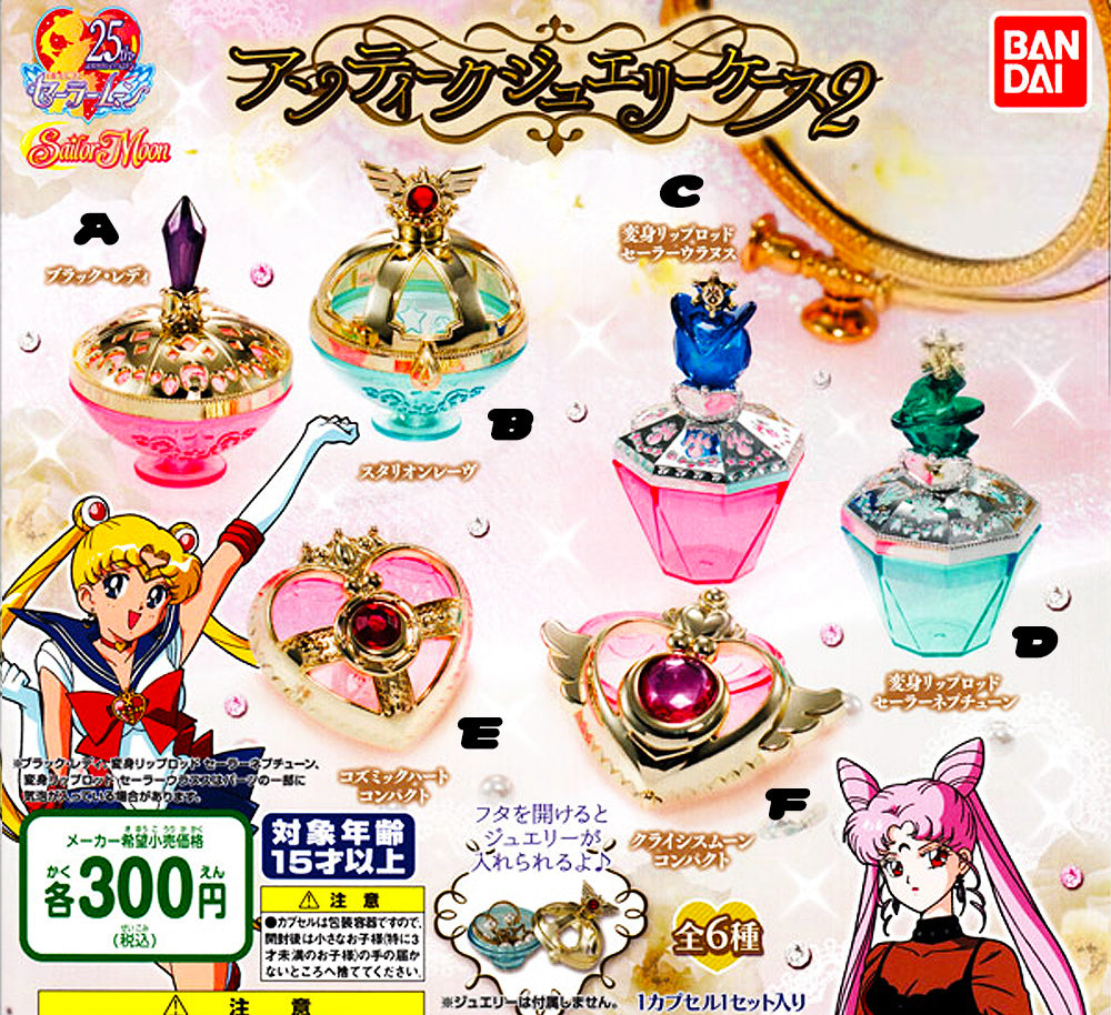 Sailor Moon Jewelry Case 2