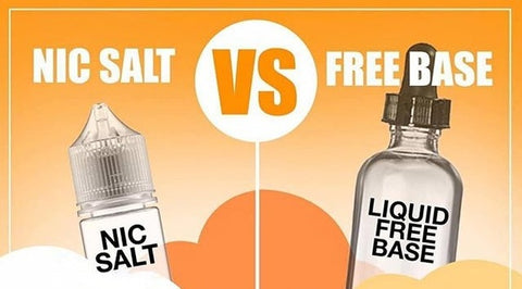 Nicotine Salt Vs Freebase Eliquid - A details insight on e-juices and nicotine levels
