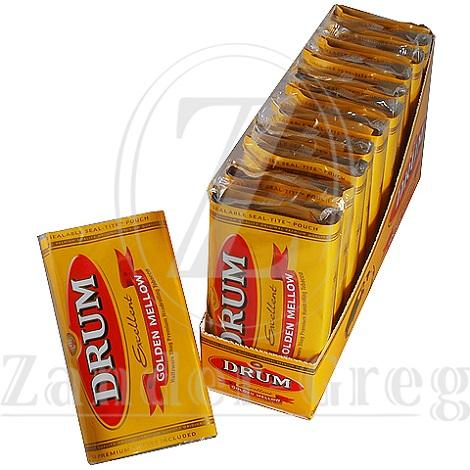 Drum Golden Mellow Rolling Tobacco with Premium Rolling Papers 32 gram pouch in best online price
