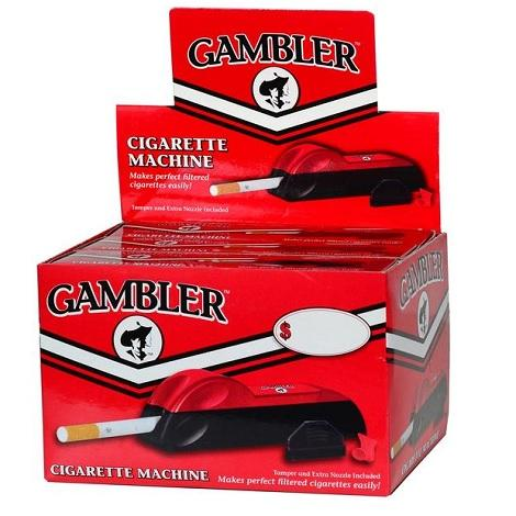 Gambler Cigarette Injector Hand Cigarette Machine King Size Easy Cigarette Rolling Machine Near Me Online Shop