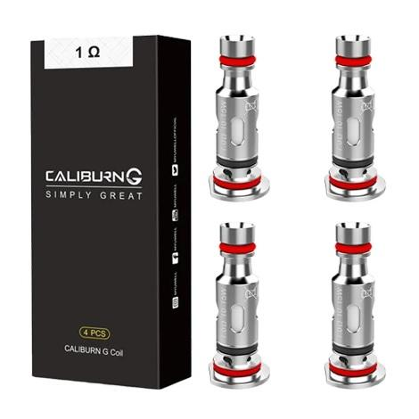 UWELL CALIBURN G REPLACEMENT COILS 1ohm  4 Pcs per Pack New coils for caliburn vape device near me