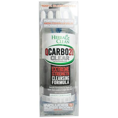 Herbal Clean QCarbo Clear 20 oz buy online vape shop near me best price store now available exciting cranberry flavor