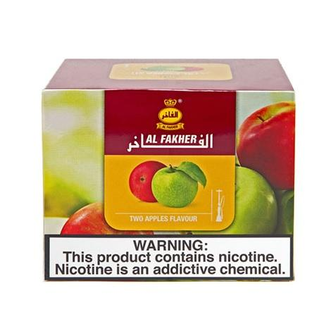 two apples by Al Fakher Hookah tobacco flavor famous double apple flavor for high smoke production shisha