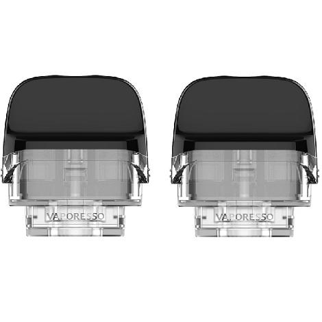 Vaporesso Luxe PM40 cartridge Pod Refiling 4ml pods with 2ml capacity 2 pods per pack in best online price
