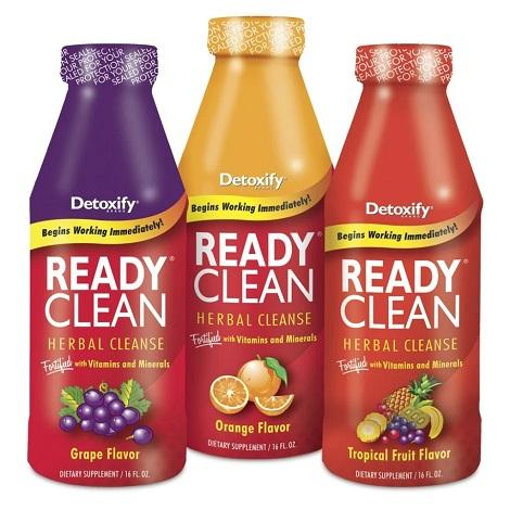 Detoxify Ready Clean Herbal Cleanse Liquid Juice for Drug Testts and toxins removal juice now available