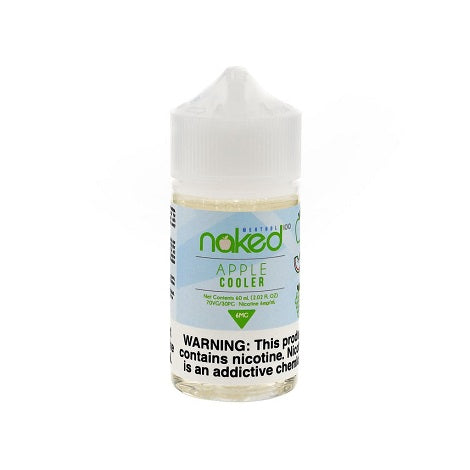 6mg apple cooler naked 100 60ml eliquid flavor for strong nicotine hit pro vapers ejuice near me best eliquid