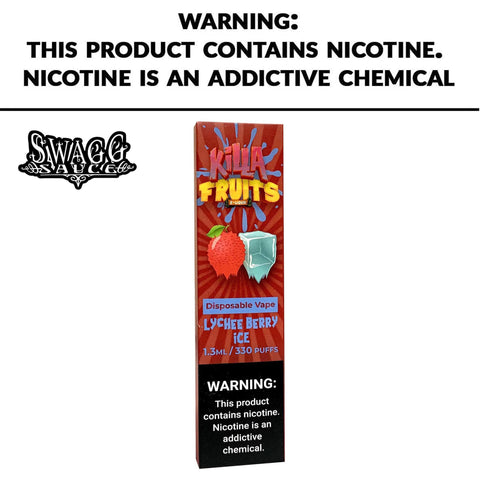Killa Fruit Flavors 50mg Salt base Ejuice