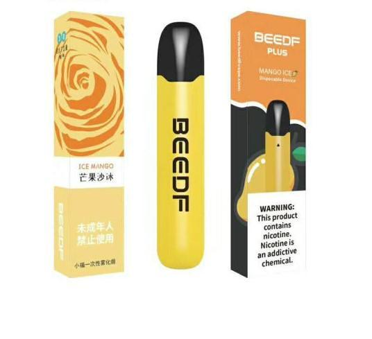 Beedf Disposabe vape collection latest design minimal vape one time ice mango flavor low price disposable vapes