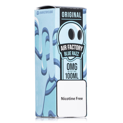 nic salt ejuice blue razz original air factory 100ml eliquid bottle near me online vape shop near me