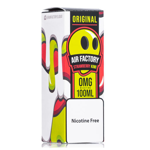 Kiwi Strawberry 100ml ejuice air factory E Liquid ejuices collection near me online vape shop nicotne free vaping