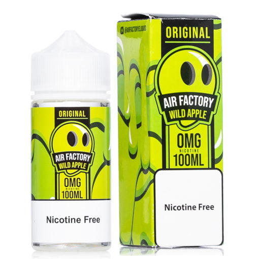 Wild apple original air factory eliquid vape juice vaping liquid near me online vape shop perfect vape hit