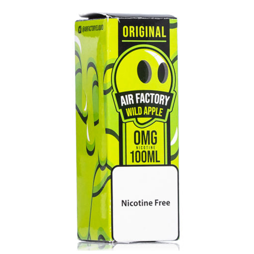 nic salt ejuices collection high nicotine hit smooth throat hit vape juice apple flavor air factory 100ml