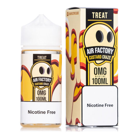 Custar Craze Treat Air Factory 100ml ejuice flavor nicotine flavors nicotine free eliquids collection
