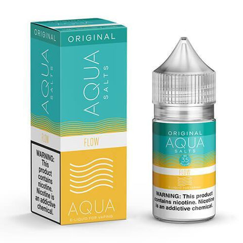 Aqua Original Nicotine Salt Eliquid 30ml 35mg High nicotine hit vape juice for perfect satisfaction best reviews juice