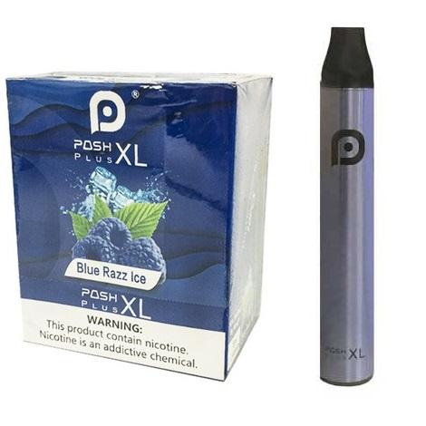 Blue Razz Ice Posh Plus XL 6ml ejuice 5% nicotine content for perect throat hit new disposables 1500 puffs