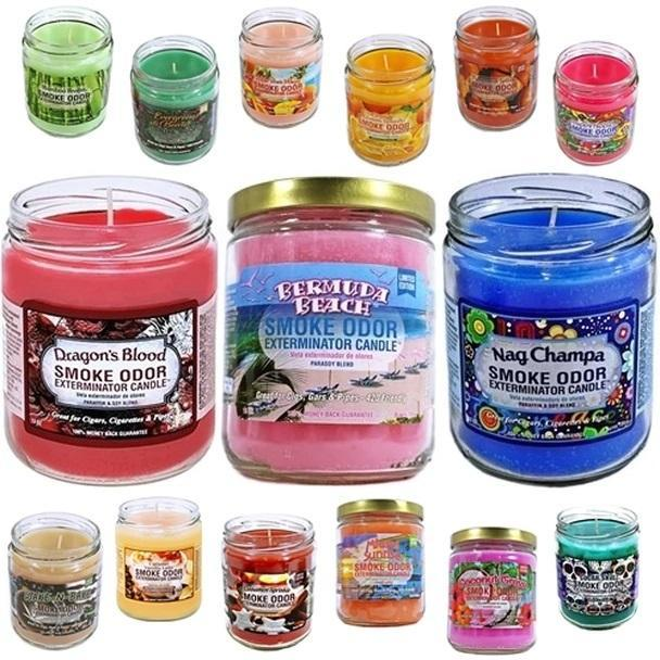 Smoke Odor Candles Collection