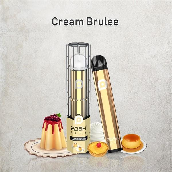 Posh plus cream burlee salt nic