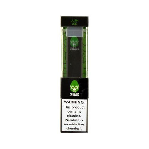 Crushed Pre-filled disposable nicotine salt e-liquid device Near Vermont