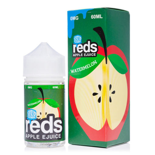Reds Iced Apple Refreshing Watermelon Flavor 60ml Eliquid Bottle near me by reds in best online prices buy now