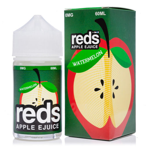 Reds Apple Ejuice Watermelon Flavor best nicotine free elqiuids near me vape juice collection for beginners