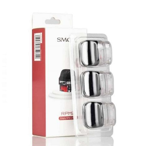 SMOK RPM 2 Empty Replacement Pods 3 Pods per pack 7ml Eliquid Capacity Refillable Pods compatible with RPM 2 Coils