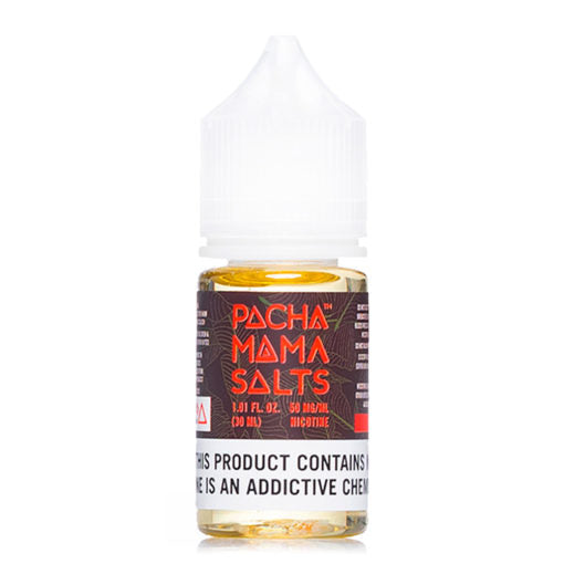 Pacha Mama Salt Nicotine E Liquid 30ml ejuice capacity 25mg nic salt content near me online vape shop