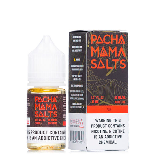 Pacha Mama Salt Nicotine E Liquid 30ml Fuji Flavor Ejuice Near me online vape shop 50mg nic salt vape juice