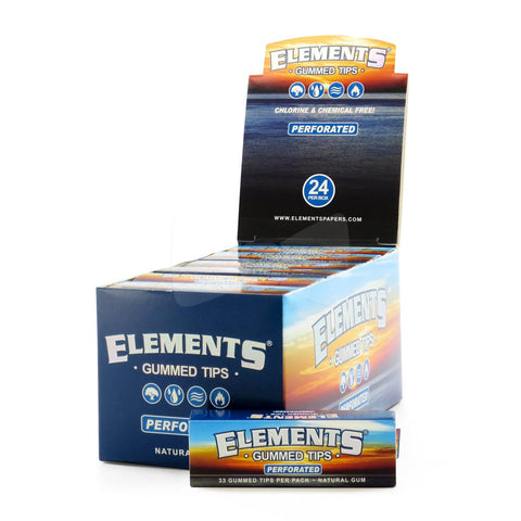 Element rolling tips perforated