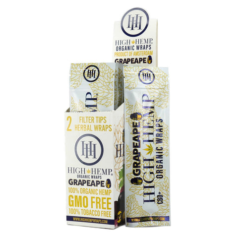 High Hemp Wraps warning and rolling tips