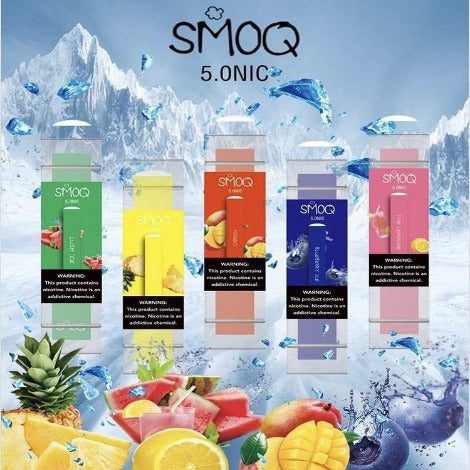 Smoq Disposable Flavors