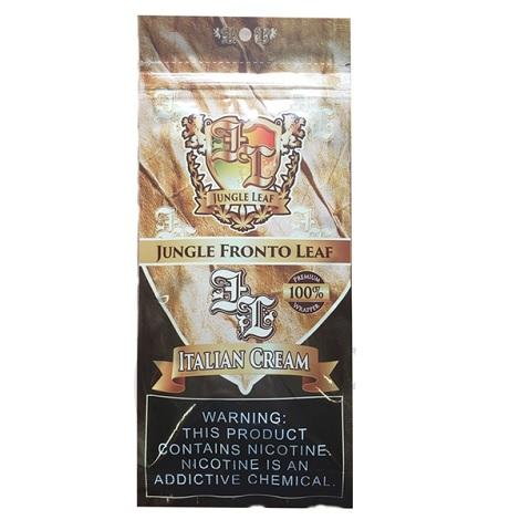 Jungle Fronto Leaf Italian Cream Flavored tobacco Paper Fresh Cigar Leaf Packed Near me online tobacco shop