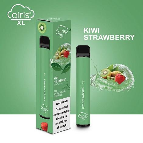 Kiwi Strawberry Flavor Airis XL Disposable Vape 5% NicSalt Near Me Extra Large Disposable Vape 1200 puffs