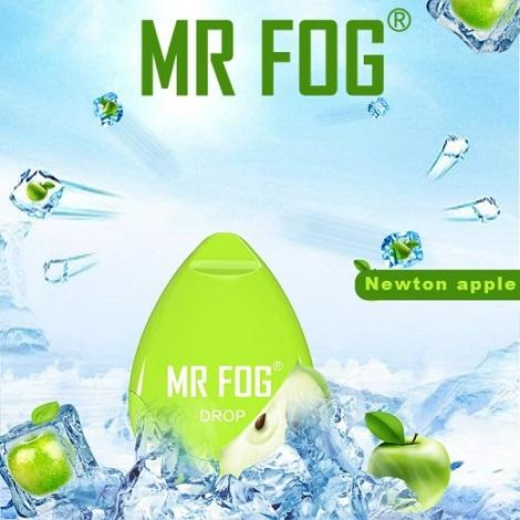 Mr Fog Drop Vapes Newton Apple flavor disposable latest vape devices ready to use easy draw vape devices