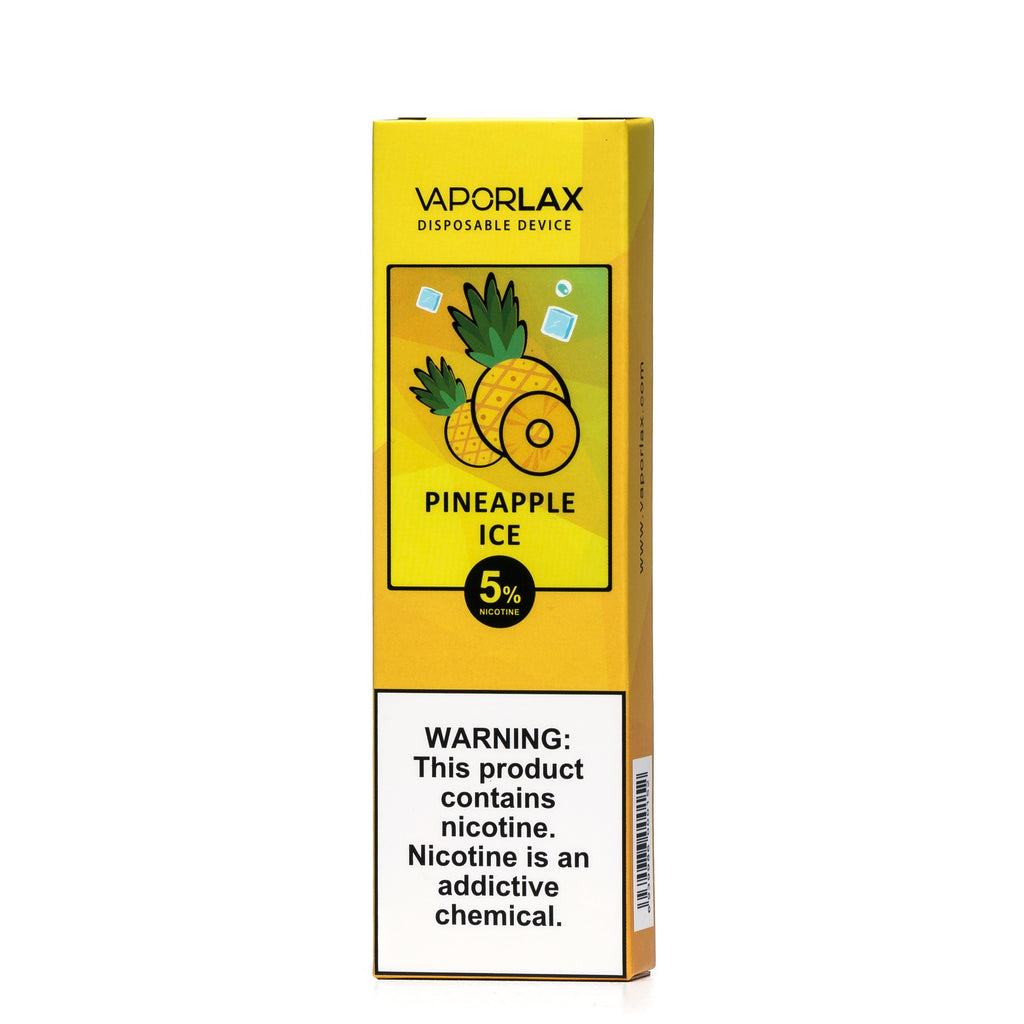 VaporLax Pod System Vaping Pineapple Ice New Flavors Vape