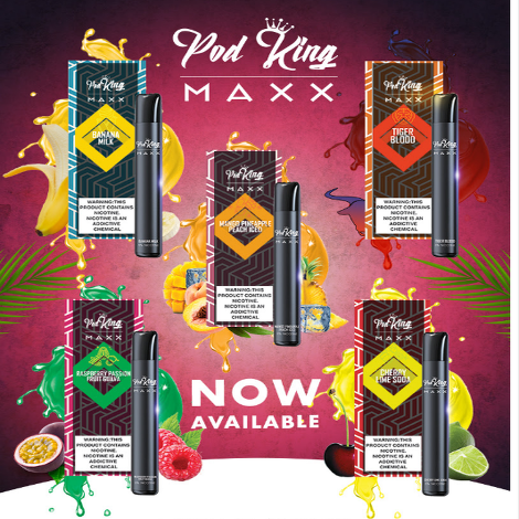 Pod King Max Disposable Flavor
